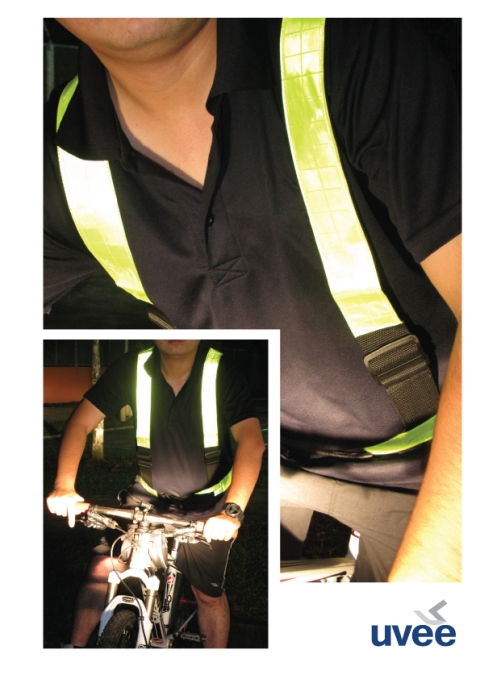 Reflective Safety Harness 01