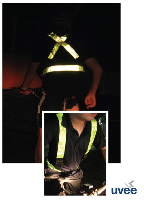 Reflective Safety harness 03
