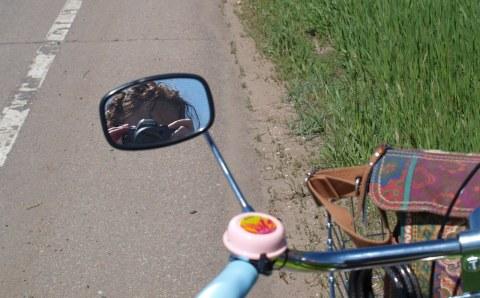 Bike Ride Mirror Me